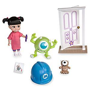 Disney Animators' Collection Boo Mini Doll Play Set - Monsters, Inc. - 5''