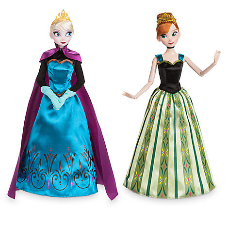 Anna and Elsa Classic Dolls Coronation Gift Set - Frozen - 11''