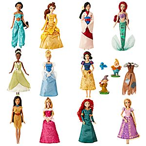 Disney Princess Classic Doll Collection Gift Set 6002040900408P