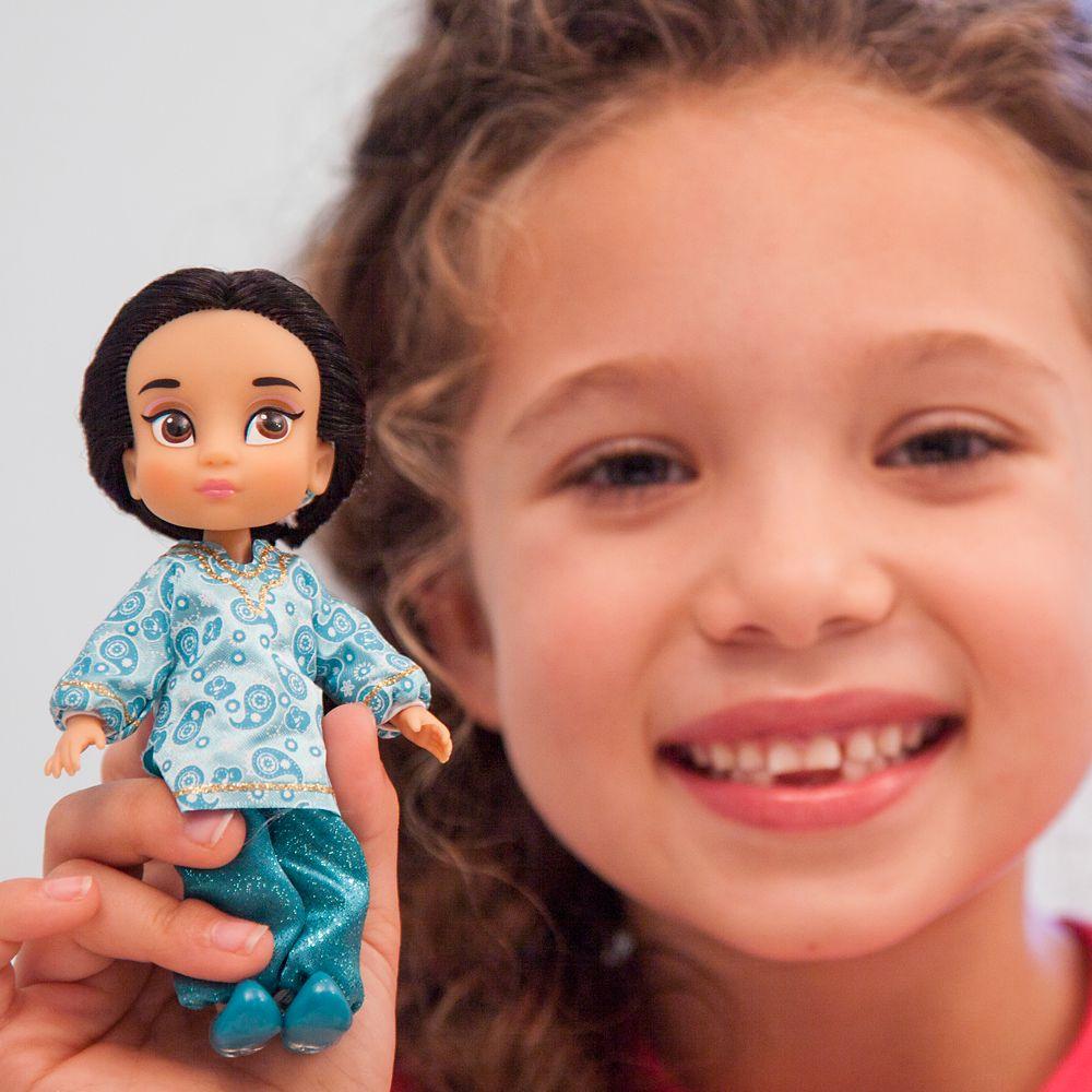 Disney Animators' Collection Jasmine Mini Doll Play Set