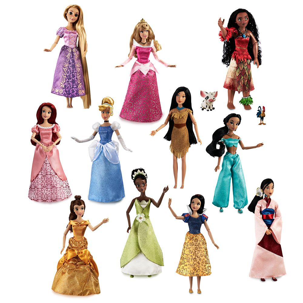 Disney Princess Doll Gift Set – 11''