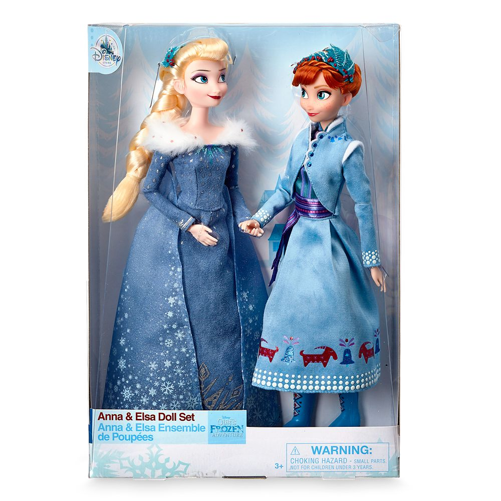 Anna and Elsa Doll Set – Olaf's Frozen Adventure