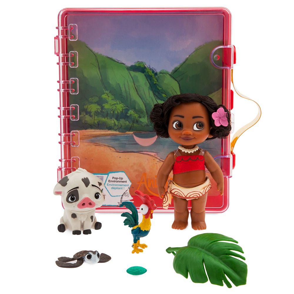 Disney Animators Collection Moana Mini Doll Playset Shopdisney
