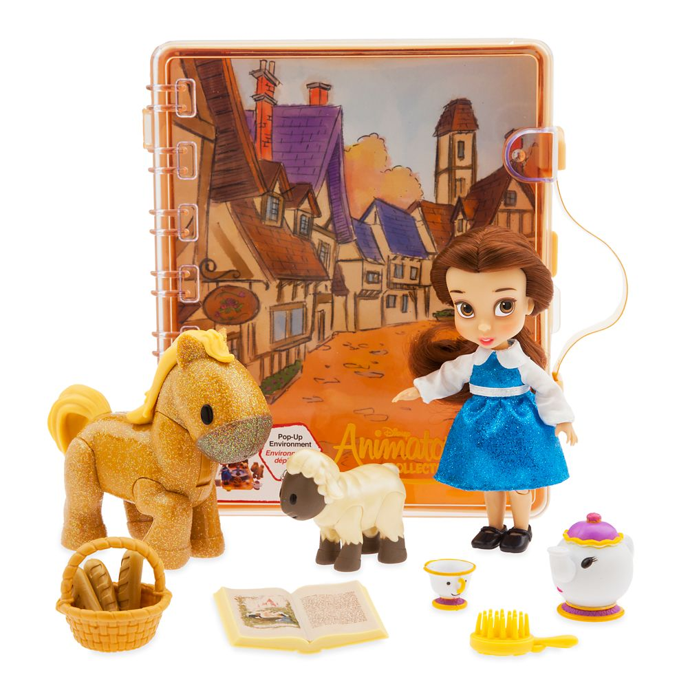Disney Animators' Collection Belle Mini Doll Play Set