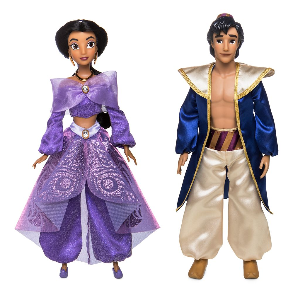 Aladdin and Jasmine Singing Duet Doll Set