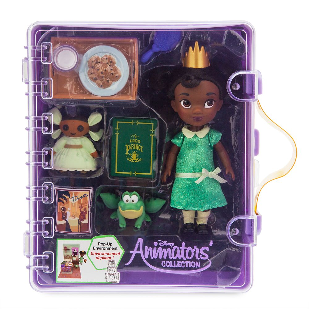 Disney Animators' Collection Tiana Mini Doll Play Set