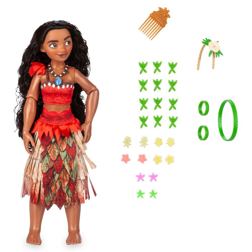 Moana Hair Play Doll