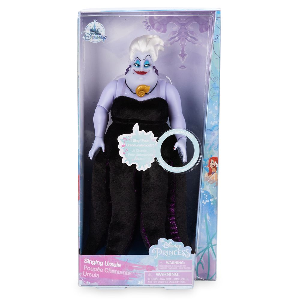 Ursula Singing Doll – The Little Mermaid