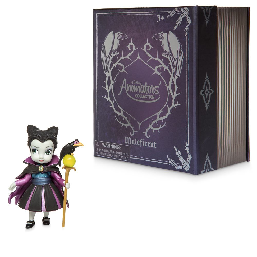 Disney Animators' Collection Maleficent Vinyl Figure – Sleeping Beauty – 3''