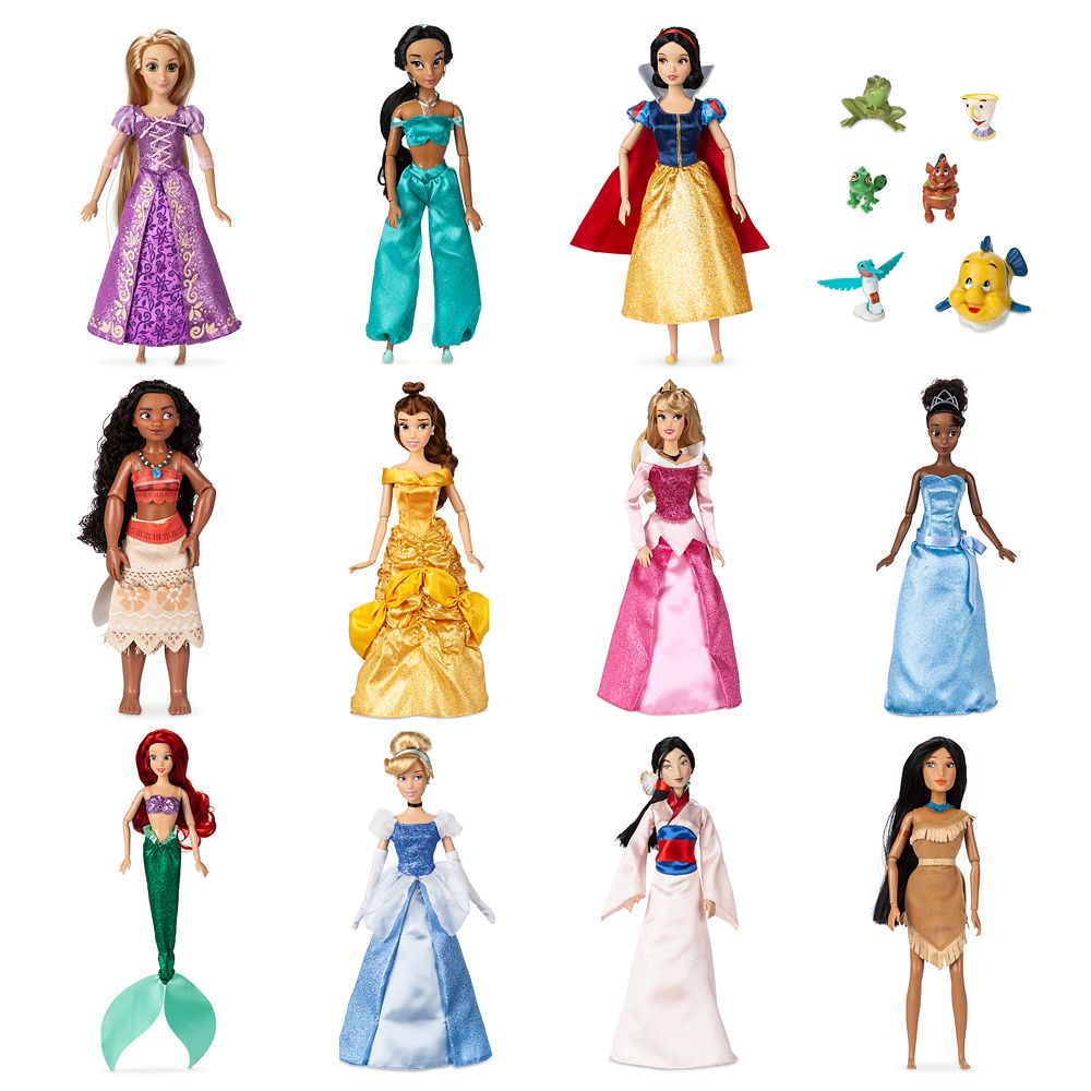 Disney Princess Classic Doll Collection Gift Set 11 Shopdisney