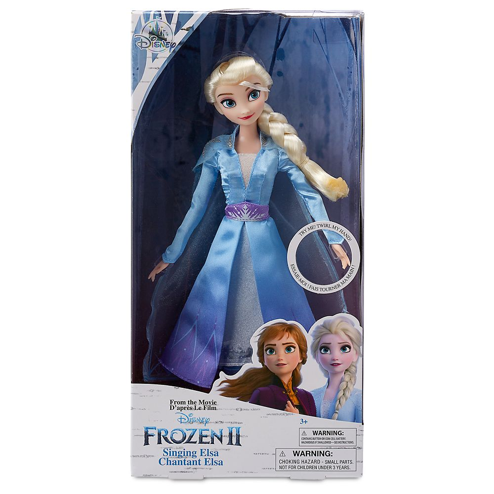 Elsa Singing Doll Frozen 2 11 Shopdisney