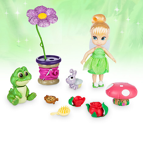 Disney Animators' Collection Tinker Bell Mini Doll Play Set - 5''