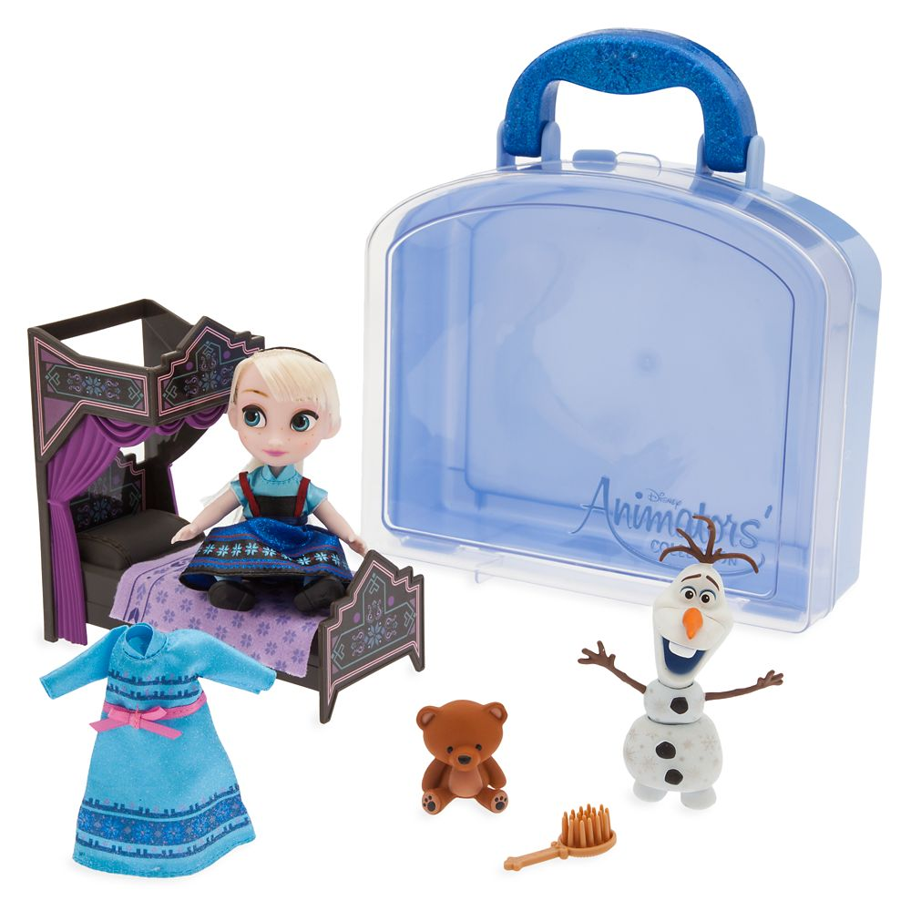 Disney Animators' Collection Elsa Mini Doll Play Set