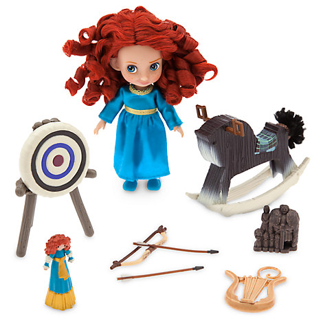 Disney Animators' Collection Merida Mini Doll Play Set - 5''