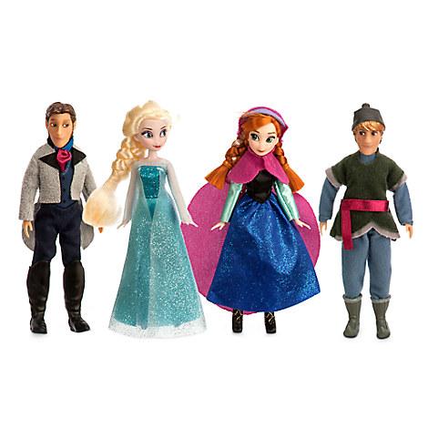 Frozen Mini Doll Set - 5''