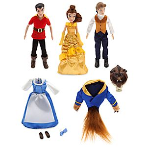 Beauty and the Beast Mini Doll Set
