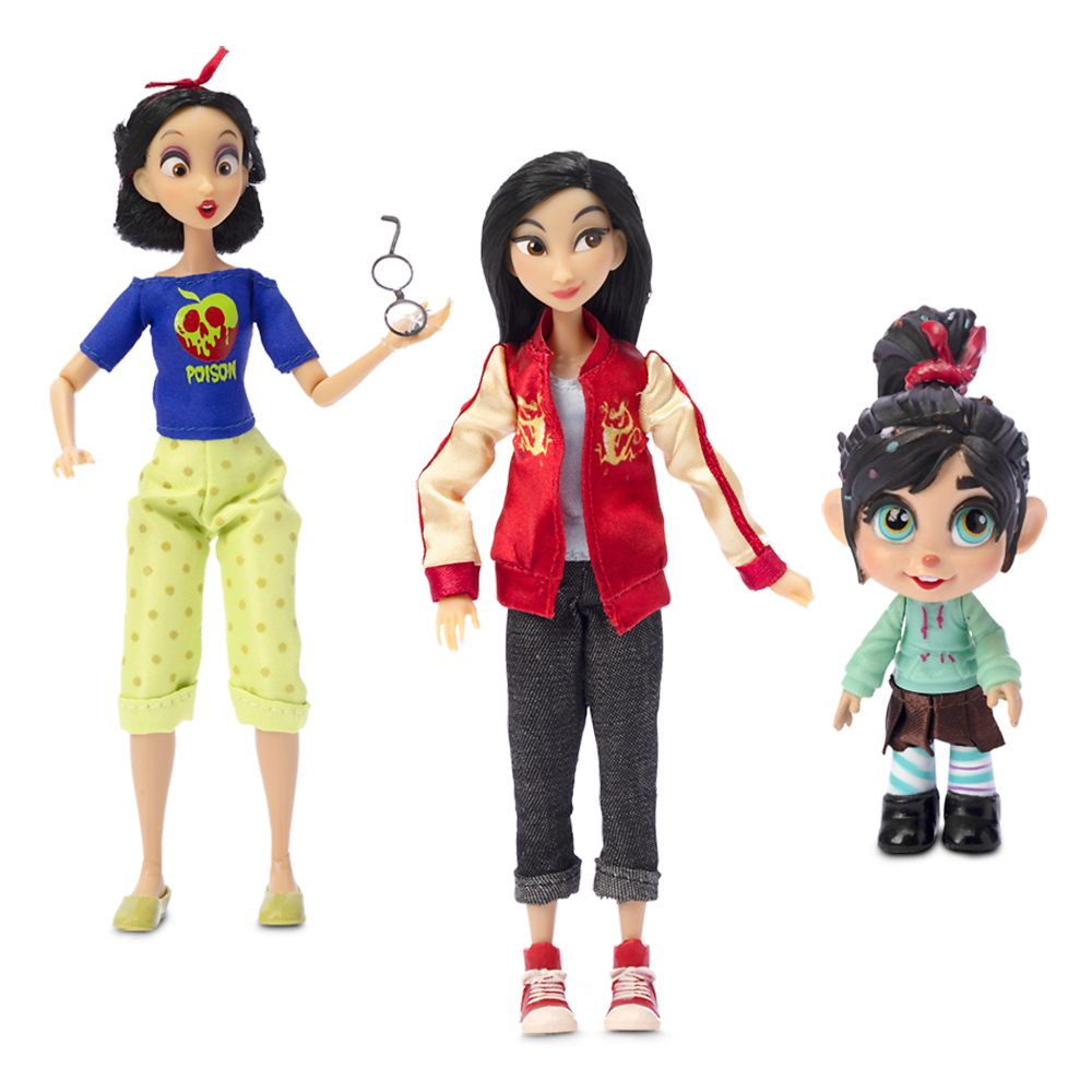 Vanellope With Comfy Princesses Dolls Gift Set Ralph Breaks The Internet Shopdisney