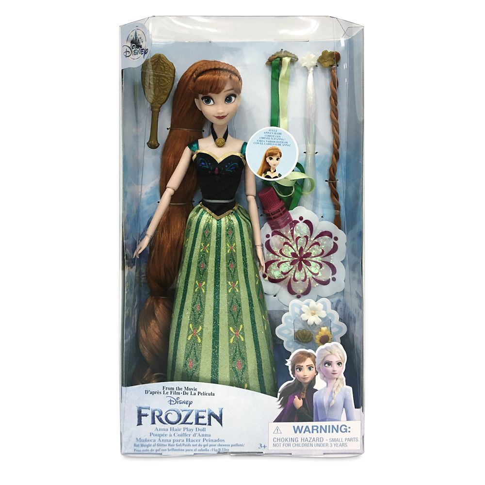 Anna Hair Play Doll – Frozen – 11 1/2''