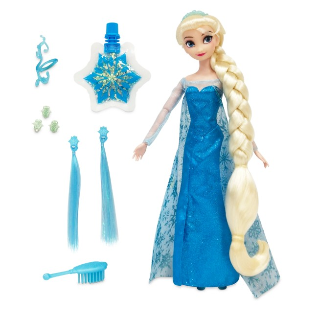 Elsa Hair Play Doll – Frozen – 11 1/2''