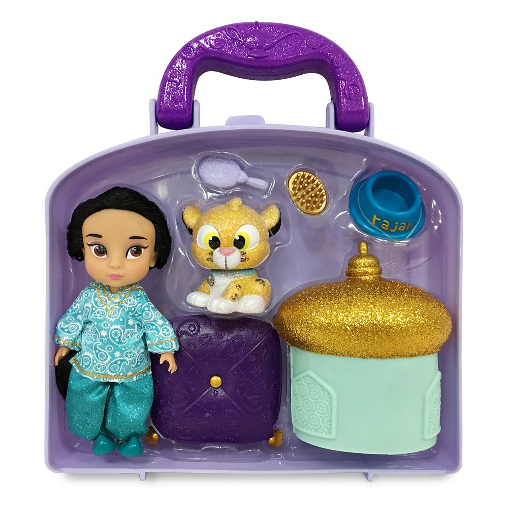 Jasmine Disney Animators' Collection Mini Doll Play Set – 5''