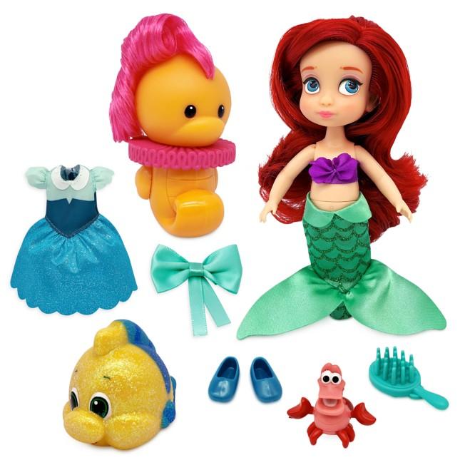 Ariel Disney Animators' Collection Mini Doll Play Set – The Little Mermaid – 5''
