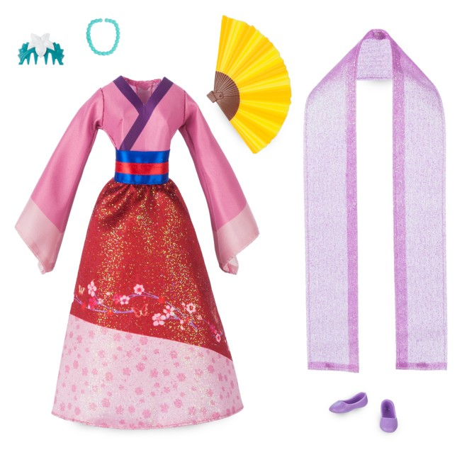 Mulan Classic Doll Accessory Pack