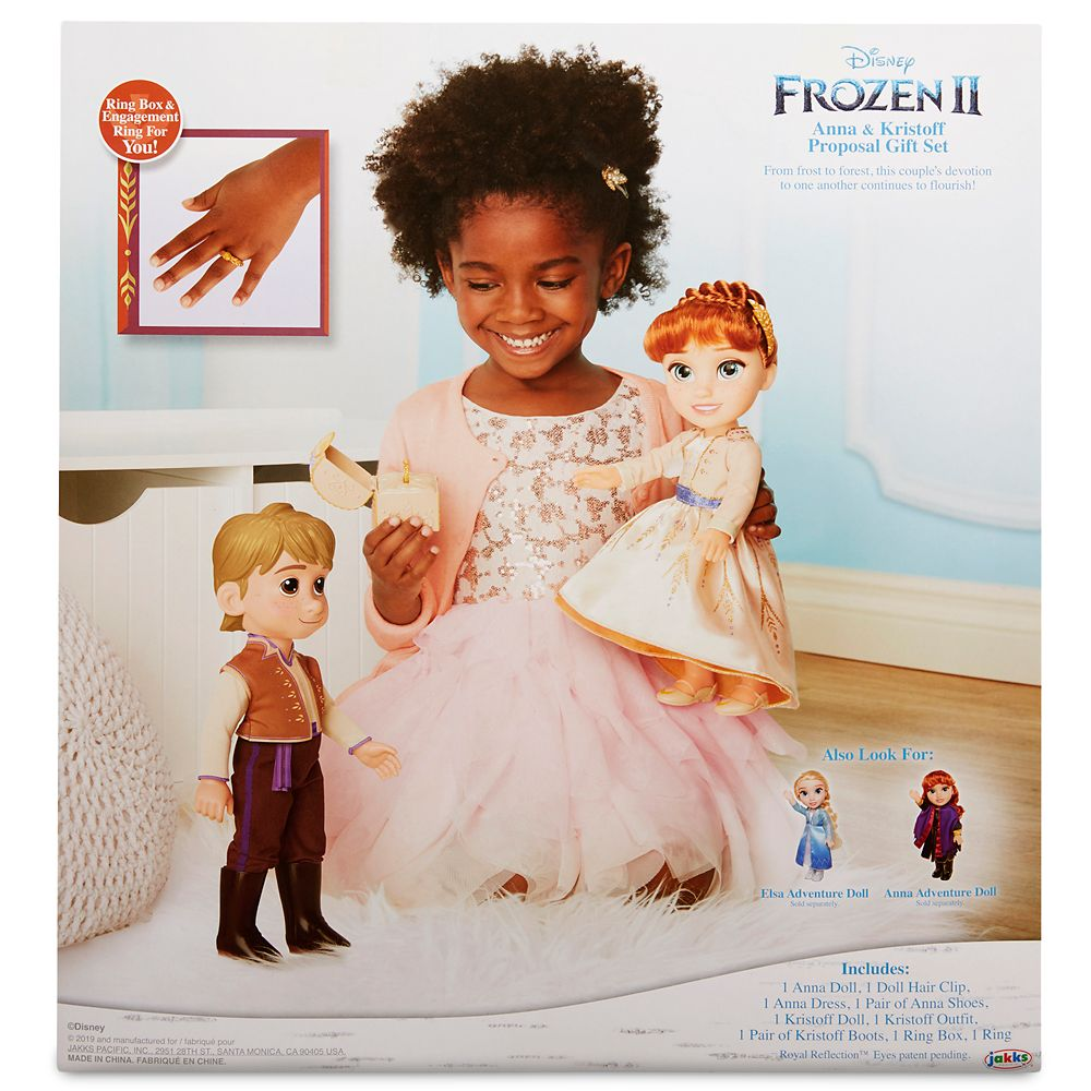 Anna & Kristoff Doll Proposal Gift Set – Frozen 2