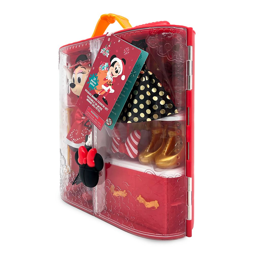 Minnie Mouse Doll Holiday Fashion Set