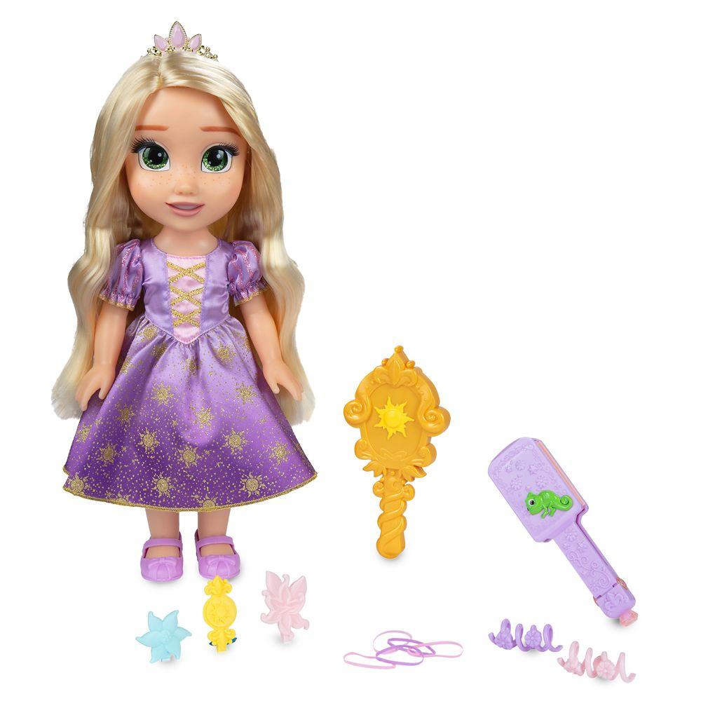 Rapunzel Disney Princess Magic in Motion Hair Glow Doll – 15''