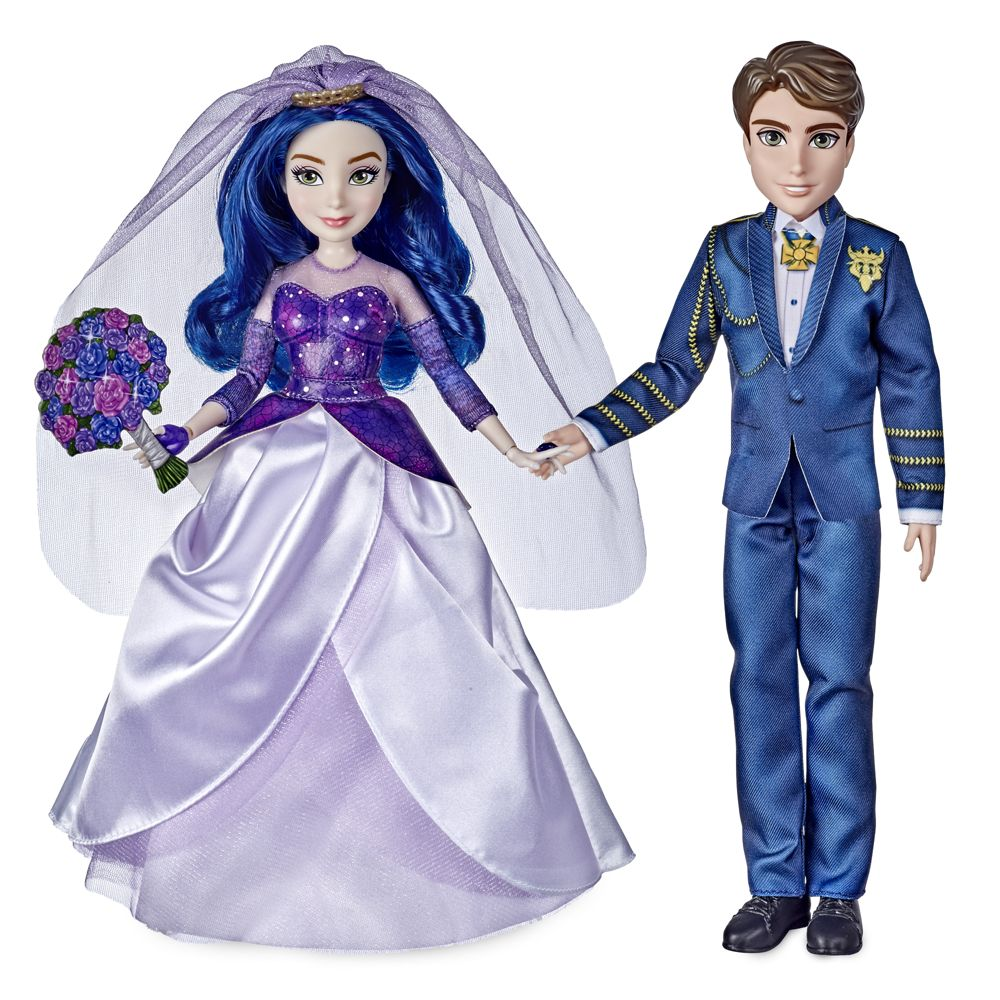 Mal & Ben Wedding Doll Set – Disney The Royal Wedding: A Descendants Story