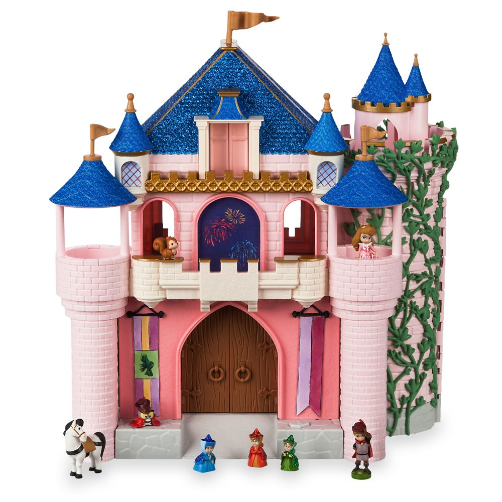 Disney Animators' Collection Deluxe Sleeping Beauty Castle Play Set