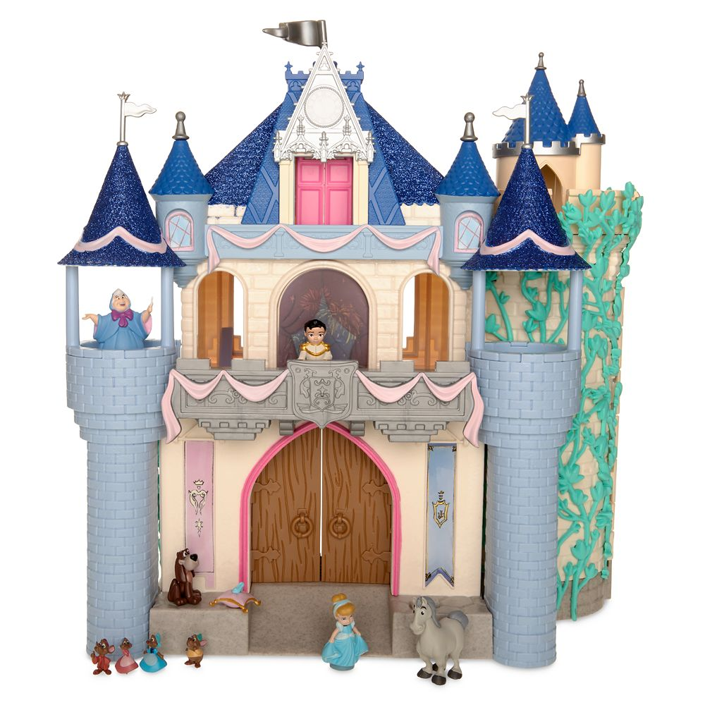 Disney Animators' Collection Deluxe Cinderella Castle Play Set