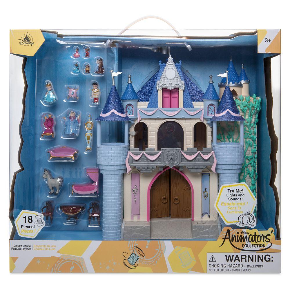 BRAND NEW Disney® Animators/' Collection Deluxe Sleeping Beauty Castle Play Set
