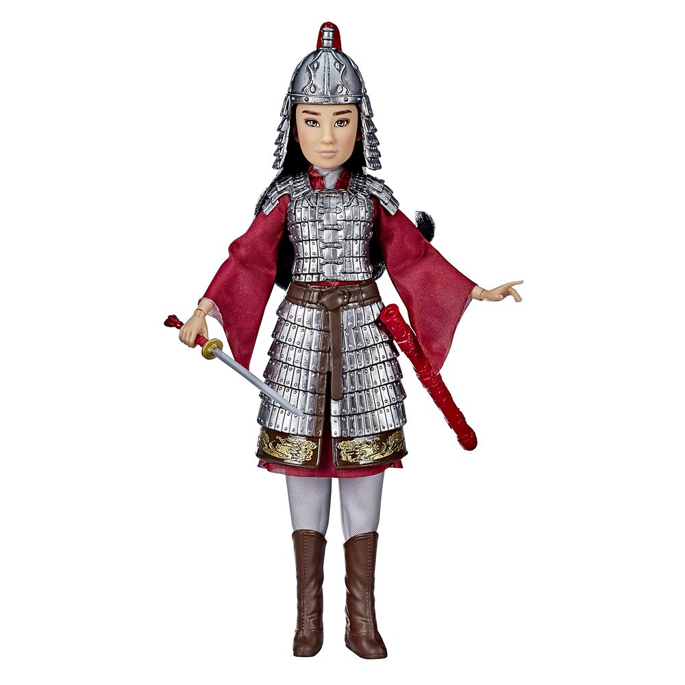 Mulan Two Reflections Doll by Hasbro – Live Action Film – 12 3/4''