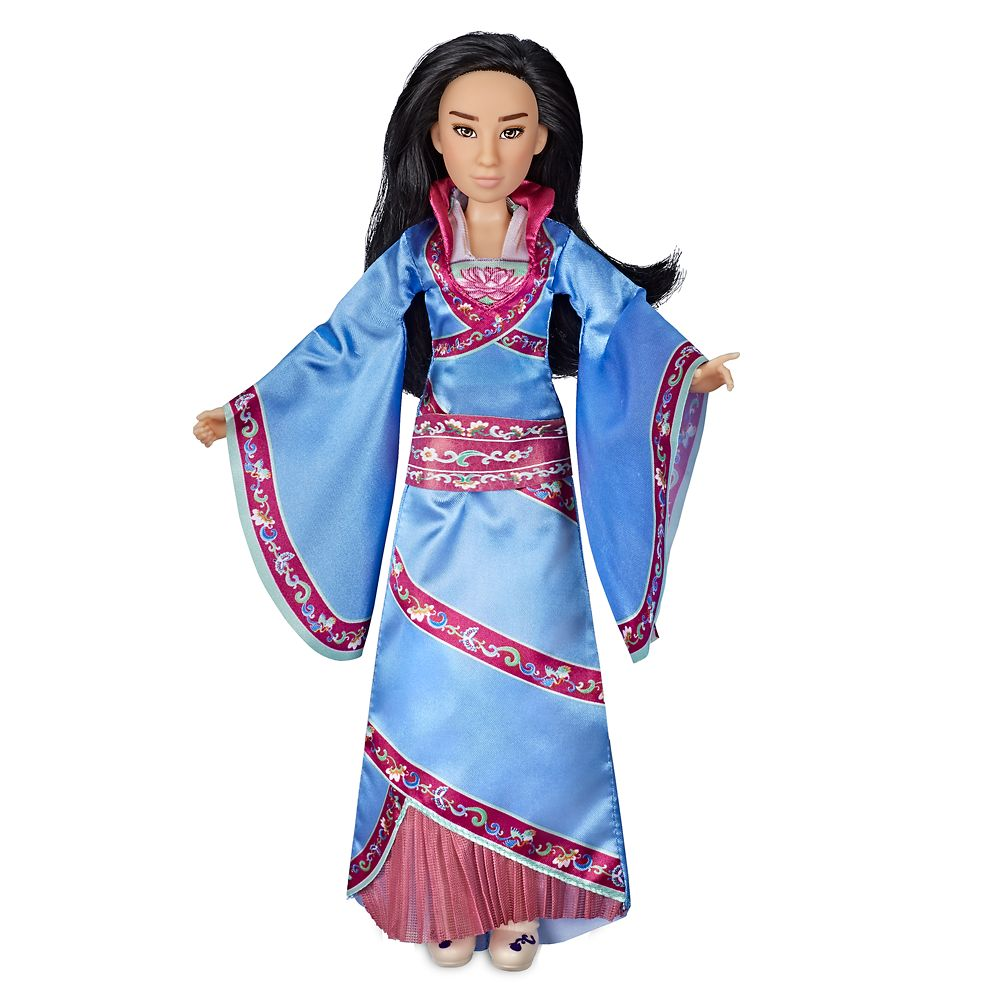 Disney Store Exclusive Mulan large 17inch Singing Poseable Doll,Sings Reflection