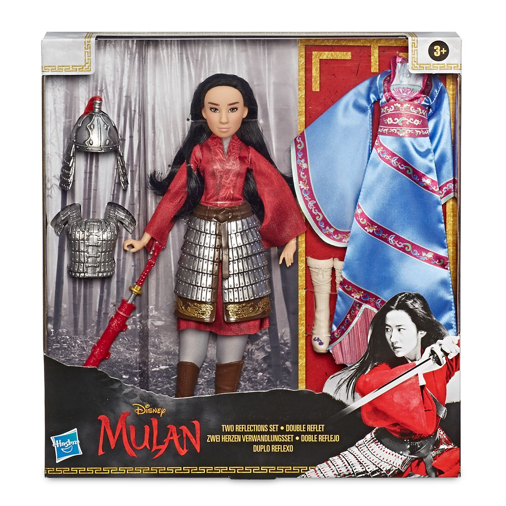 Mulan Two Reflections Doll By Hasbro Live Action Film 12 3 4 Shopdisney