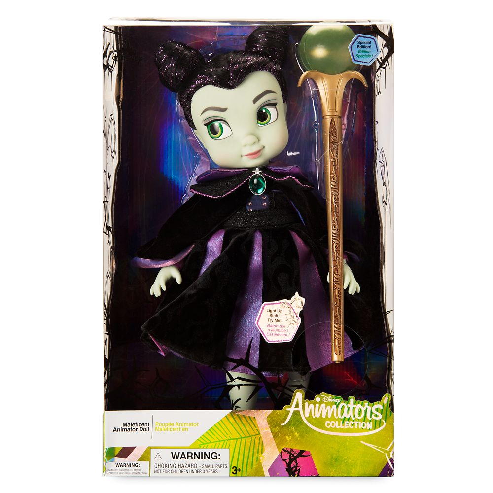 Disney Animators' Collection Maleficent Doll – Sleeping Beauty – Special Edition – 16''