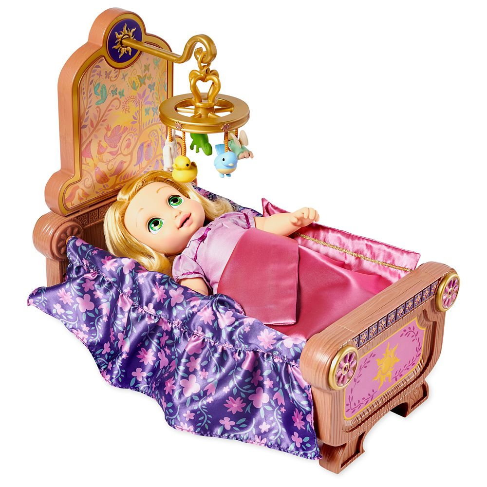 Rapunzel Baby Doll and Crib Gift Set – Disney Animators' Collection