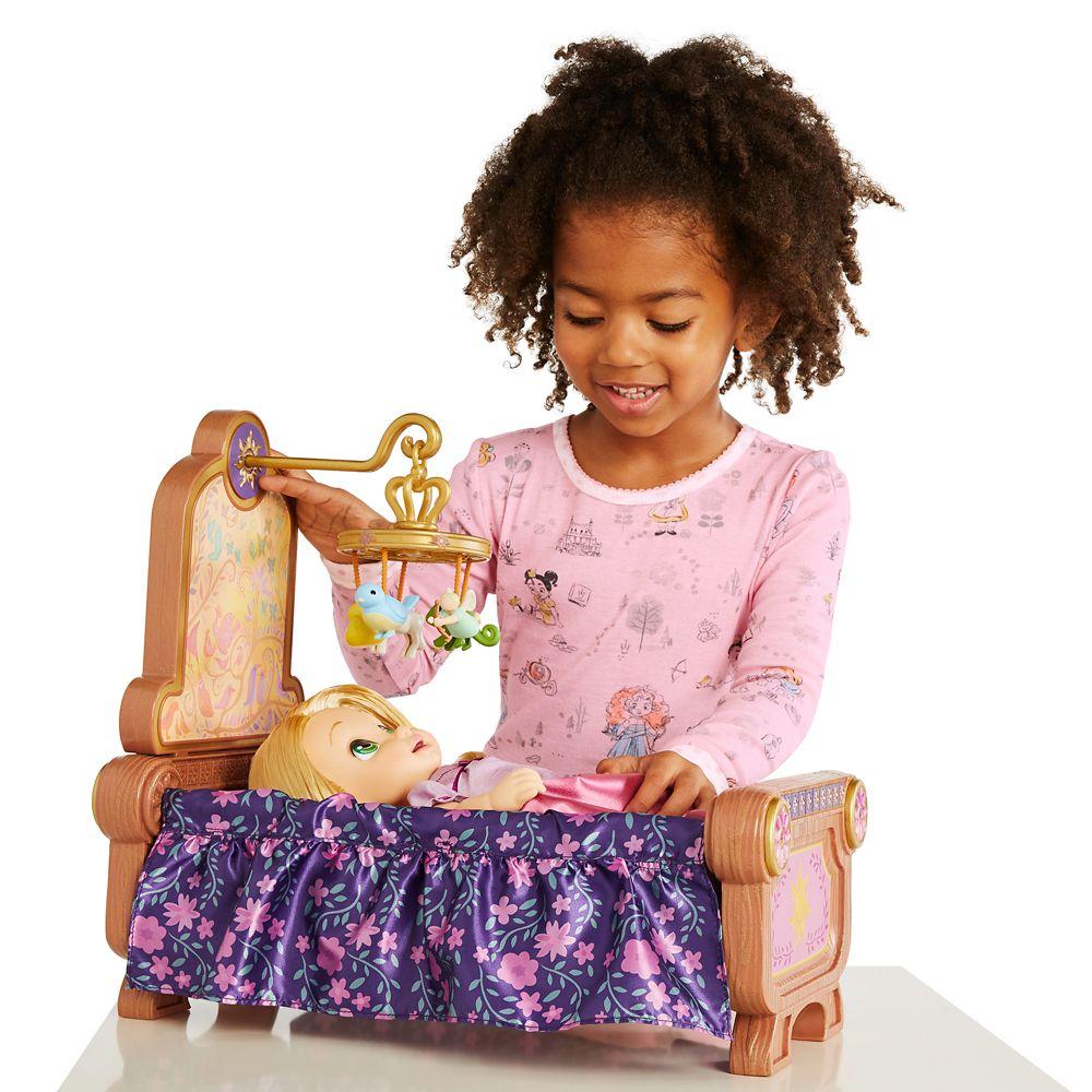 Rapunzel Baby Doll and Crib Gift Set – Disney Animators' Collection