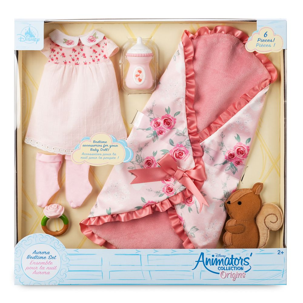 Disney Animators' Collection Aurora Bedtime Set