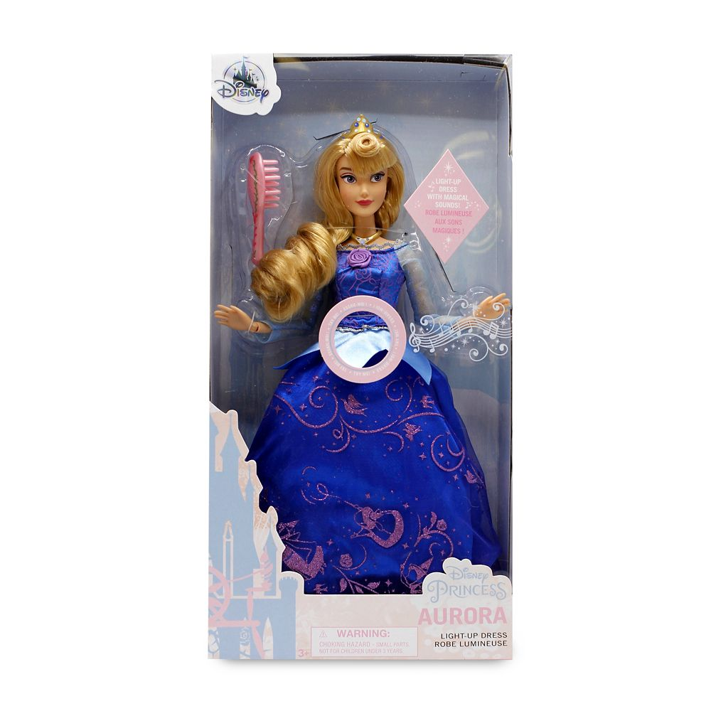Aurora Premium Doll with Light-Up Dress – Sleeping Beauty – 11''