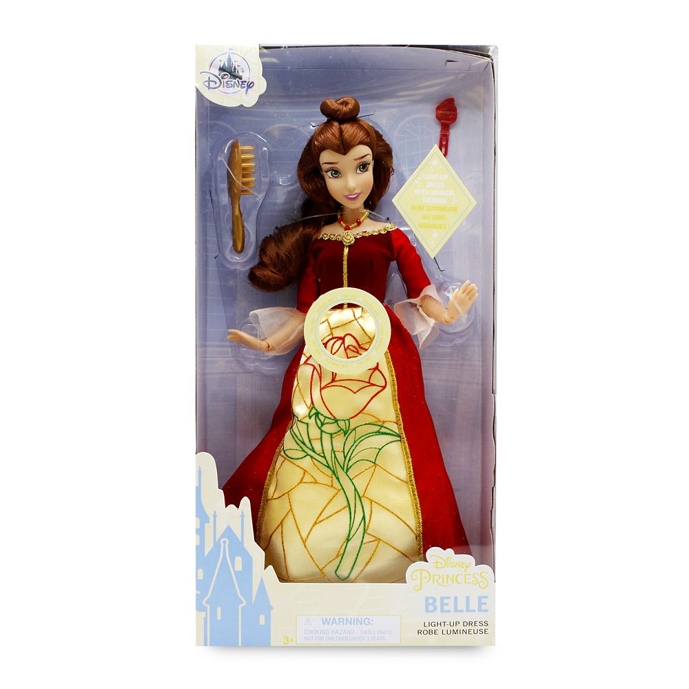 Belle Premium Doll with Light-Up Dress – Beauty and the Beast – 11''