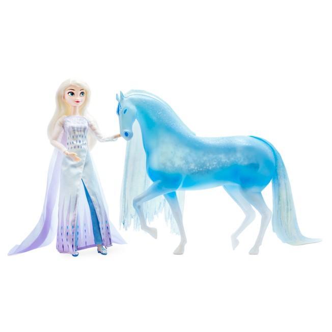 Elsa and Ice Nokk Figure Set – Frozen 2