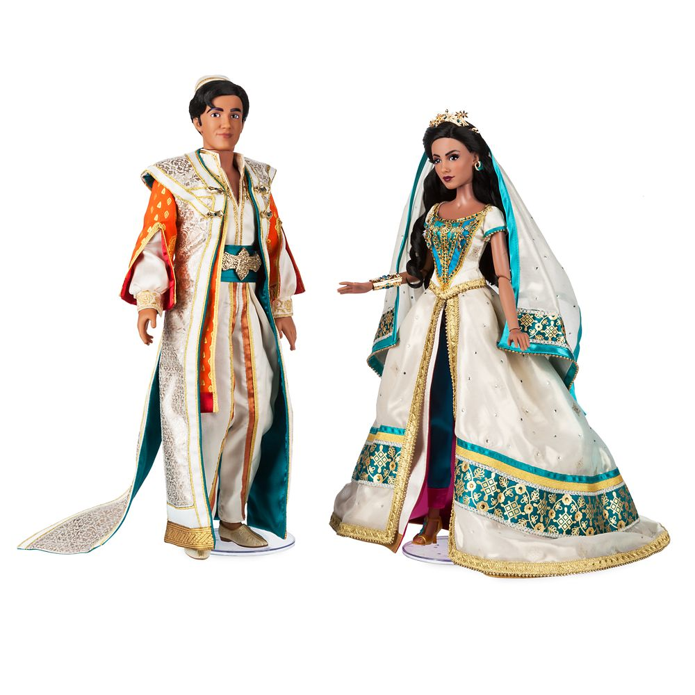 Jasmine And Aladdin Limited Edition Doll Set