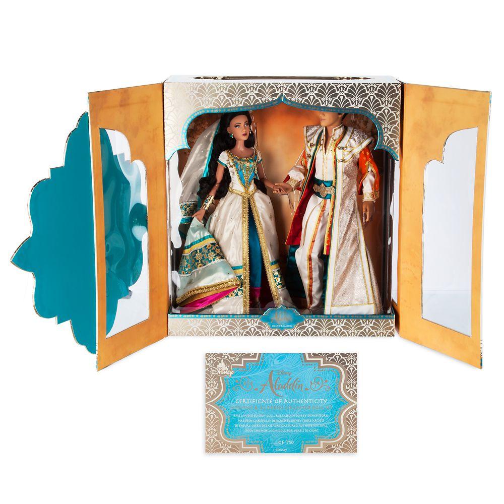Jasmine and Aladdin Limited Edition Doll Set – Live Action Film – 17''
