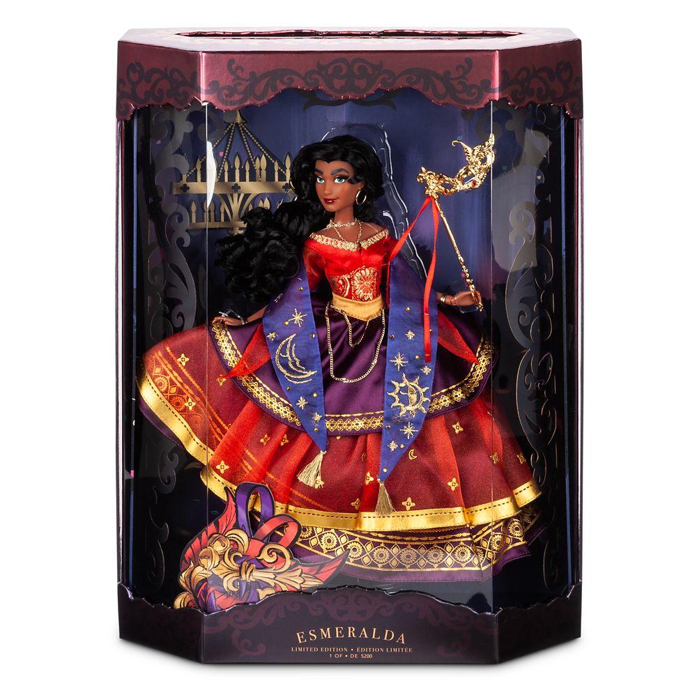 Esmeralda Limited Edition Doll – Disney Designer Collection Midnight Masquerade Series – 11''