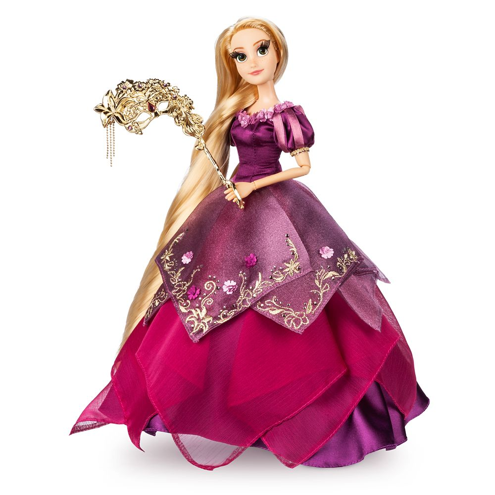 Rapunzel Limited Edition Doll  Disney Designer Collection Midnight Masquerade Series  12''