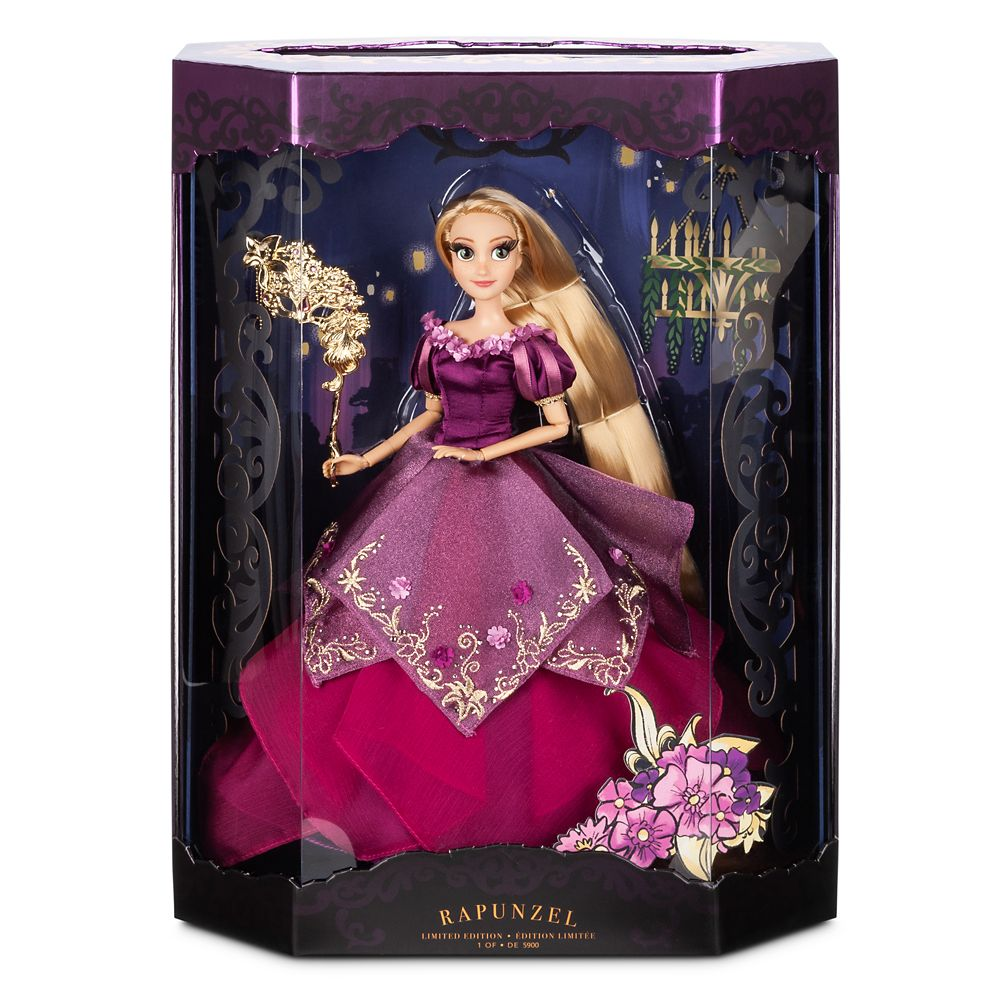 Rapunzel Limited Edition Doll – Disney Designer Collection Midnight Masquerade Series – 12''