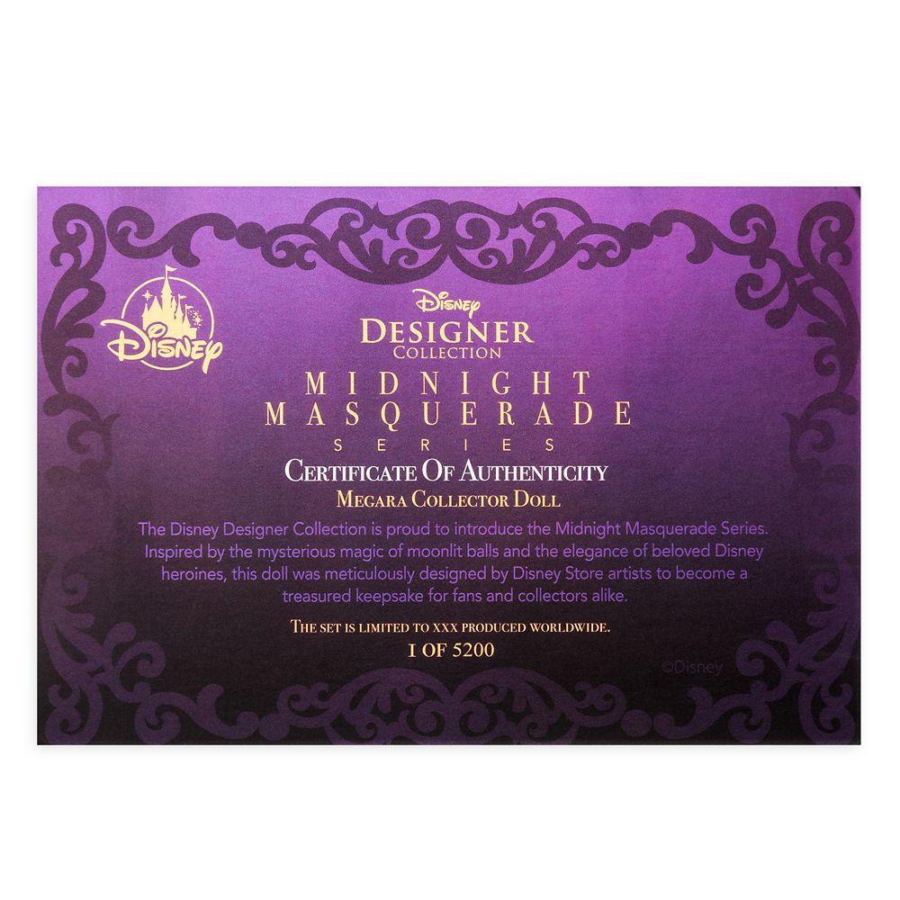 Megara Limited Edition Doll – Disney Designer Collection Midnight Masquerade Series – 12''