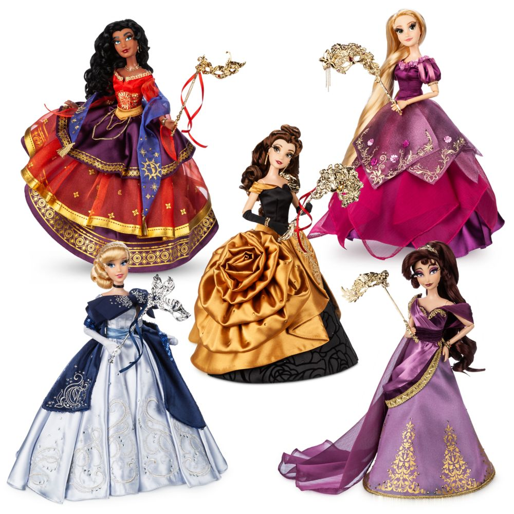 Disney Designer Collection Midnight Masquerade Series Limited Edition Doll Set